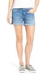 Women's Mavi Jeans 'Vanna' Cuffed Denim Shorts Portland