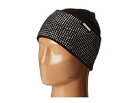 Michael Michael Kors Heat Seal Studded Cuff Hat Black Polished Nickel Caps