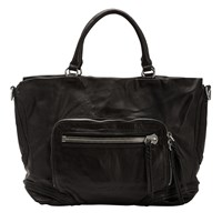 Liebeskind Kumamoto Leather Tote Bag Ninja Black