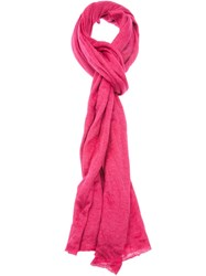 Faliero Sarti 'Petra' Scarf Pink And Purple