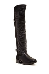 Godiva Brenda Over The Knee Riding Boot Black