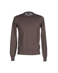 Alpha Massimo Rebecchi Knitwear Jumpers Men Dove Grey