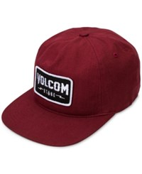 Volcom Men's Badger Hat Merlot