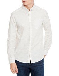Kenneth Cole Long Sleeved Shirt White Combo