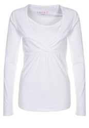 Esprit Maternity Long Sleeved Top White
