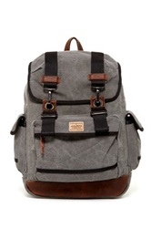 A. Kurtz Cedar Rucksack Backpack Gray