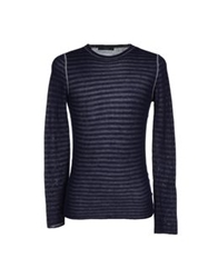 Fdn Sweaters Dark Blue