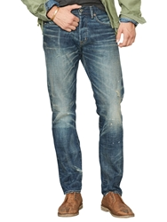 Denim And Supply Ralph Lauren Alamo Slim Jeans Blue