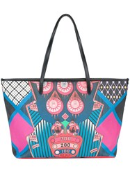 Etro Pinball Motif Print Shoulder Bag Multicolour
