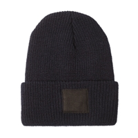 Black Square Cap In Navy Blackbird