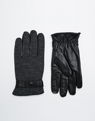 Totes Knitted Gloves Black