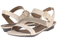 Lifestride Enchant Champagne Women's Sandals Gold