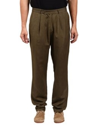 Adam Kimmel Casual Pants Military Green
