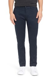 Original Penguin Men's 'Venture' Slim Fit Chinos Dark Sapphire