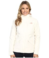 The North Face Inlux Insulated Jacket Vintage White Women's Jacket Beige