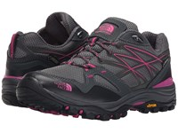 The North Face Hedgehog Fastpack Gtx Zinc Grey Raspberry Rose Women's Shoes Gray