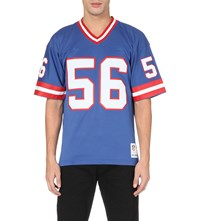 Mitchell And Ness Lawrence Taylor Mesh Jersey Top Navy