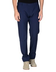 57 T Trousers Casual Trousers Men Dark Blue