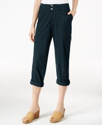 Styleandco. Style Co. Petite Convertible Cargo Pants Only At Macy's Industrial Blue