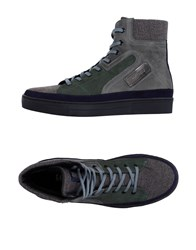Galliano Footwear High Tops And Trainers Men Grey
