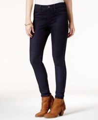 Rewash Juniors' Pull On Jeggings Super Dark Blue Black