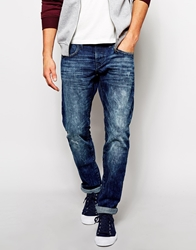 Esprit Slim Jean With Rips Regularstone984