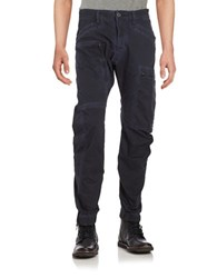 G Star Cotton Stretch Cargo Pants Blue