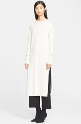 Helmut Lang Cashmere Tunic Earl Grey