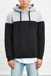 Forever 21 Two Toned Colorblock Hoodie