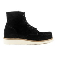 Mr. Hare Men's Hannibal Lace Up Suede Boots Nero Black