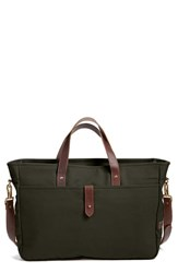 Men's United By Blue 'Hawthorn' Organic Cotton Laptop Bag Green Moss