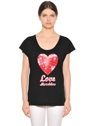 Love Moschino Cotton Modal T Shirt