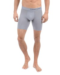 Tommy John Cool Cotton Boxer Briefs Grey