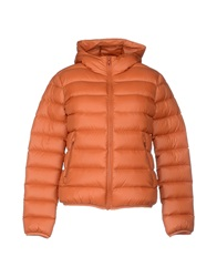 M.Grifoni Denim Down Jackets Orange