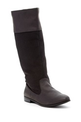Michael Antonio Berlin Flat Knee High Boot Black