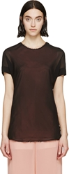 Cedric Charlier Black And Pink Layered Blouse
