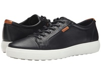 Ecco Soft Vii Sneaker Black Lion Men's Lace Up Casual Shoes
