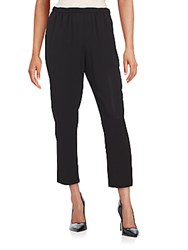 Vince Camuto Elastic Waist Cropped Pants Rich Black