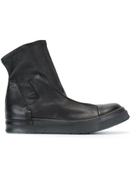 Cinzia Araia Chunky Sole Slip On Boots Black
