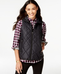 G.H. Bass And Co. Packable Quilted Vest Black