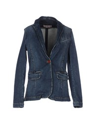Nellandme Denim Denim Outerwear Women Blue