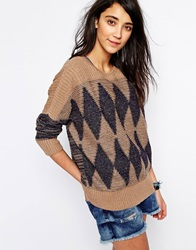Bellfield Diamond Jumper Multi