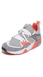 Puma Select Blaze Of Glory Og X Staple Sneakers Silver Grey Peach