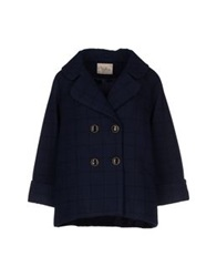 Darling Coats Dark Blue