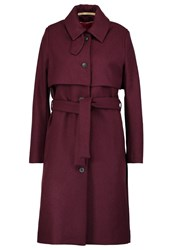 Whyred Trenchcoat Oxblood Red Bordeaux