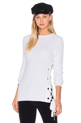Glamorous Sweater Top White