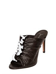 Jean Michel Cazabat 95Mm Ortensia Nappa Leather Mule Sandals