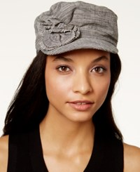 Collection Xiix Flower Military Cap Black