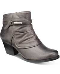 Bare Traps Rhapsody Booties Women's Shoes Dark Grey