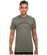 Primitive Surplus Lightweight Tee Olive Men's T Shirt